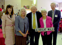 Albright Walk Dedication