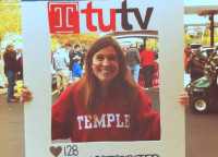Kelly's twitter photo submission to @templetv