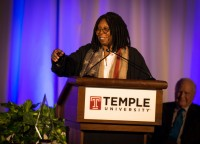 Conversation with Whoopi Goldberg at Temple University
