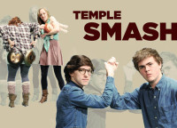 Partial cast of Temple Smash
