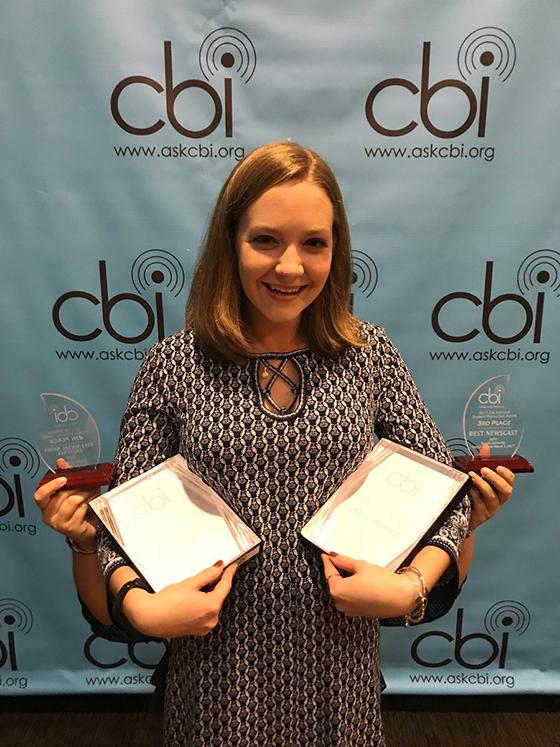 Cassie Semyon at the 2017 CBI Awards