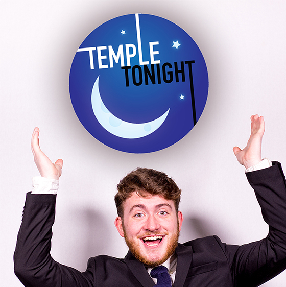Temple Tonight host Jimmy Williamson