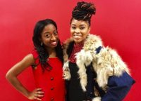 The Vibe host Nydja with guest performer Suzann Christine
