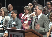 2018 Temple University Twenty Year Club Induction Ceremony