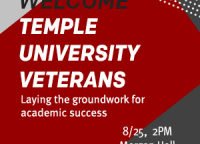 Temple University Veterans Welcome