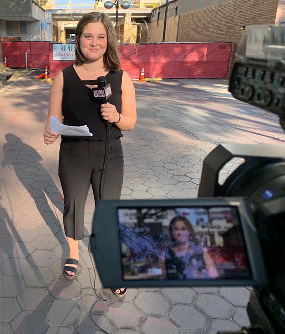 Temple Update student reporter Lianna Golden